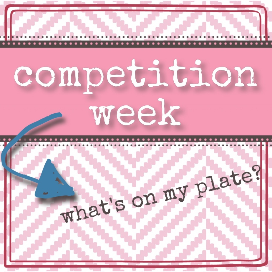 Competition Week – What's On My Plate? (aka: Why Sodium Matters)