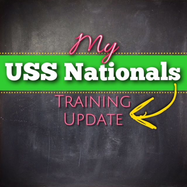 Nationals Training Update