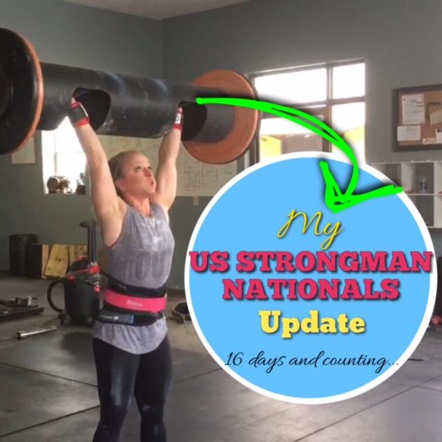 My US Strongman NationalsUpdate